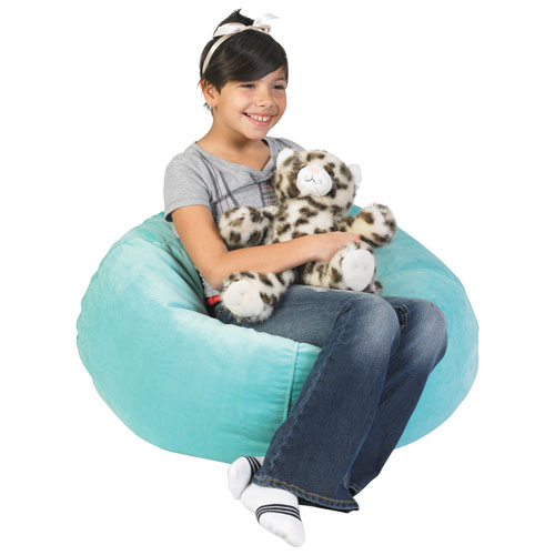 Comfy Kids - Polyester Kids Bean Bag - Dazzle Blue