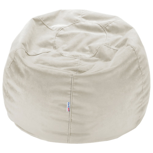Comfy Kids - Polyester Teen Bean Bag - Pearl Ivory - Comfy Kids - Polyester Teen Bean Bag - Pearl Ivory : Kids & Teens