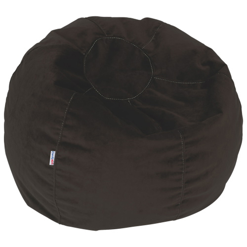 Comfy Kids - Polyester Teen Bean Bag - Espresso Brown - Online Only - Comfy Kids - Polyester Teen Bean Bag - Espresso Brown : Kids