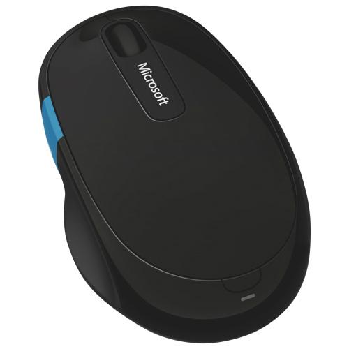 Souris Sculpt Comfort de Microsoft à technologie BlueTrack (H3S-00004) - Noir