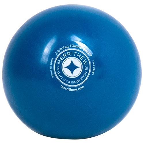 Balle lestée STOTT PILATES - 2 lb - Bleu