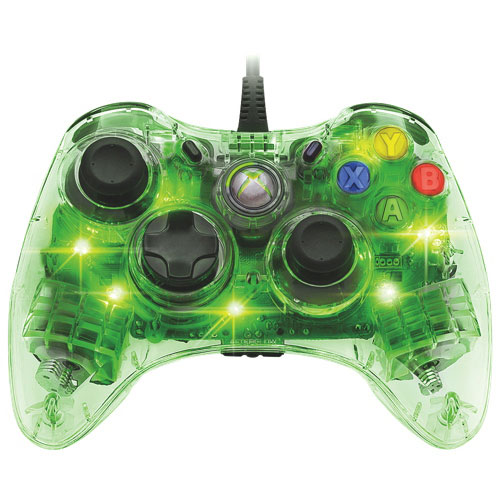 PDP Afterglow Controller for Xbox 360 - Green