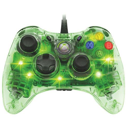 Manette Afterglow de PDP pour Xbox 360 - Vert