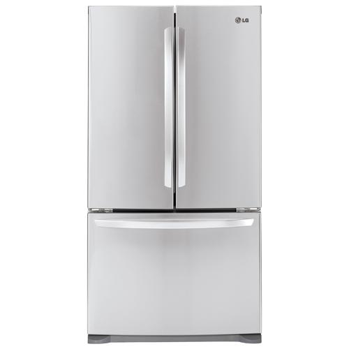 Réfrigérateur à porte à deux battants de 20,7 pi3 de LG (LFC21776ST) - Acier inoxydable