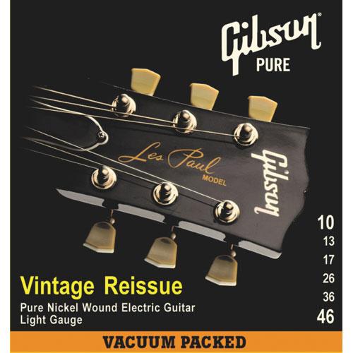 Gibson Vintage Reissue .010 - .046 Electric Guitar Strings (SEG-VR10)
