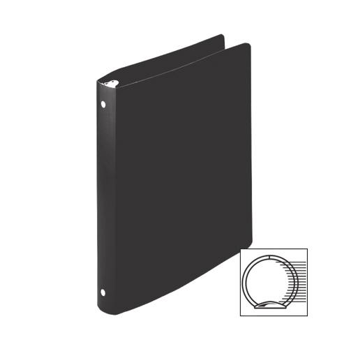 Cartable souple à anneaux de 1/2 po d'Acco (ACC39701) - Noir
