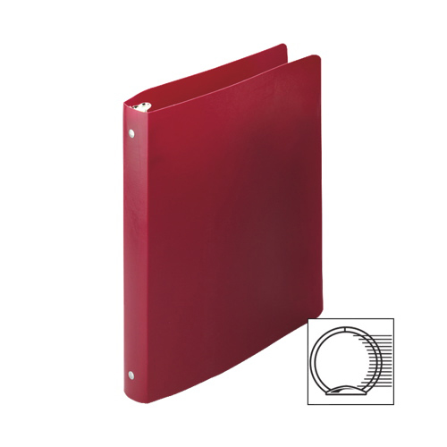 """Acco 1/2"""" Flexible Ring Binder (ACC39709) - Red"""
