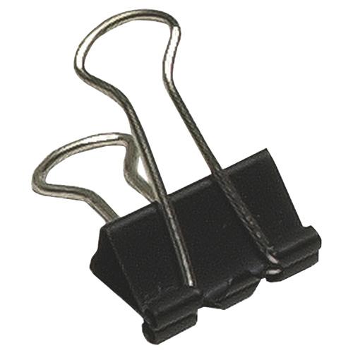 Pinces relieuses Sure-Grip d'Acme United (ACM11211) - Paquet de 12 - Noir