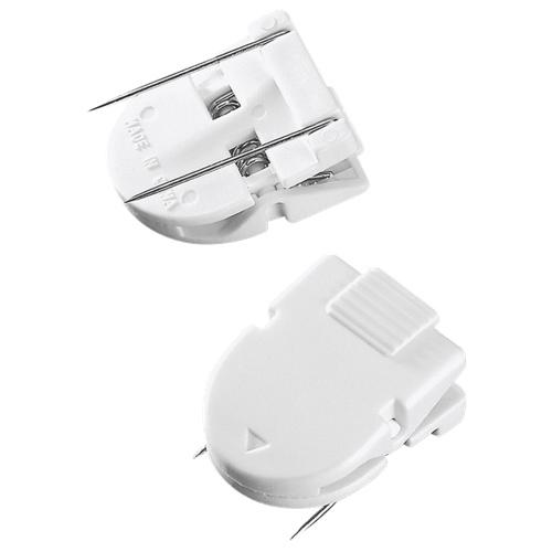 Advantus Panel Wall Clips (AVT75301) - 20 Pack - White