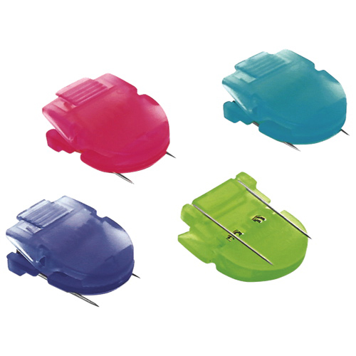 Advantus Brightly Coloured Panel Wall Clips (AVT75307) - 20 Pack - Assorted Colours