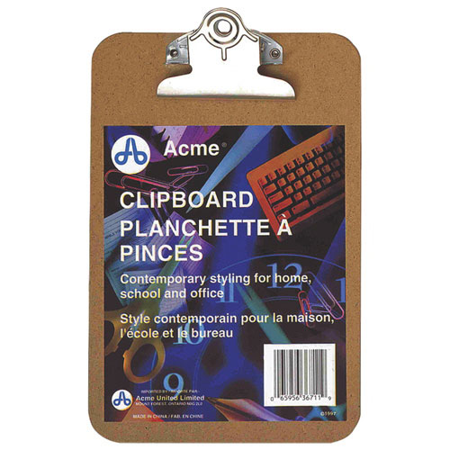 Acme United Memo Size Clipboard (ACM35069)