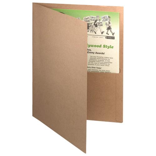 Esselte Twin-Pocket Portfolio (ESS00574) - Natural