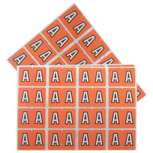 Étiquettes pour chemise de classement d'Esselte (ESS06601) - Paquet de 240 - A - Rose