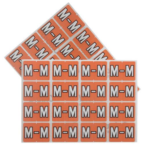 Étiquettes pour chemise de classement (ESS06613) - Paquet de 240 - M - Rose
