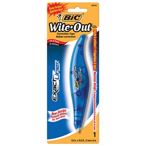 Stylo correcteur Wite-Out Exact Liner de BIC (BICWOELP11)