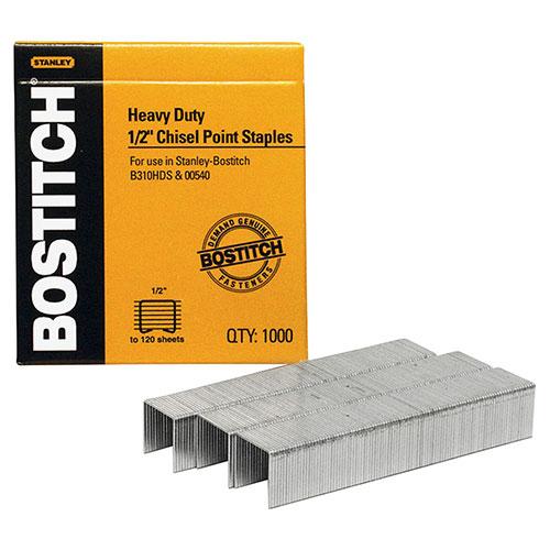 Agrafes robustes de 1/2 po de Stanley Bostitch (BOSSB351/2-1M)