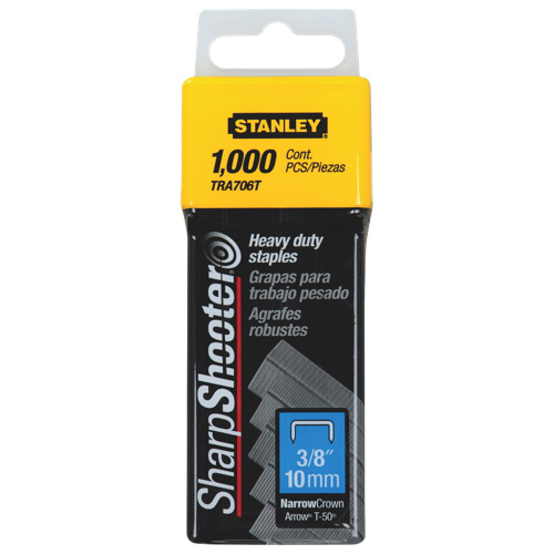 Agrafes robustes SharpShooter de Stanley Bostitch (BOSTRA706T)