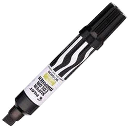 Gros stylo feutre pointe large à encre indélébile de Pilot (PIL095429) - Noir