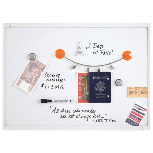 """Quartet 17"""" x 23"""" Dry-Erase Mini Board (QRT03803) - White"""