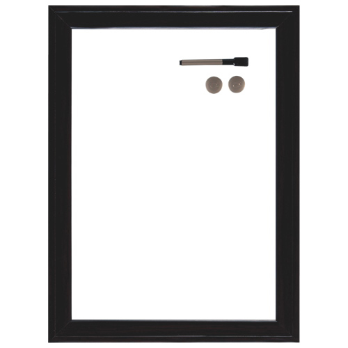 "Quartet 17"" x 11"" Dry-Erase Board (QRT03830) - Espresso"