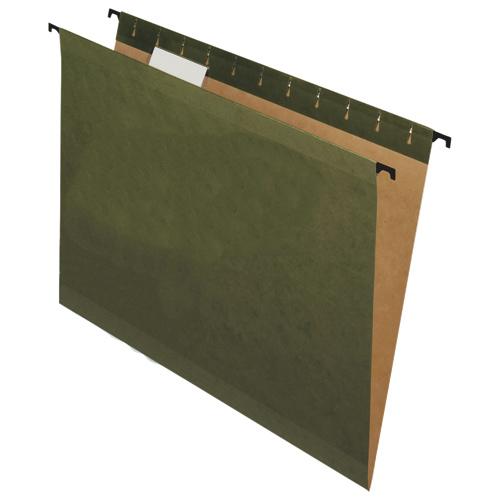 Dossiers suspendus Pendaflex SureHook d'Esselte (ESS6152C) - Paquet de 20 - Vert