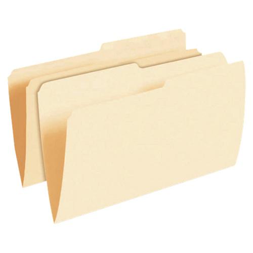 Chemises avec onglet sur le dessus Esselte (ESS62698C) - Grand format - Paquet 100 - Papier manille