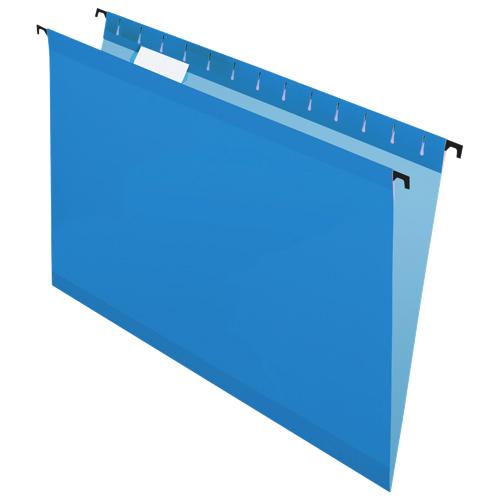 Dossiers suspendus SureHook de Pendaflex (ESS6153CBLU) - Légal - Paquet de 20 - Bleu