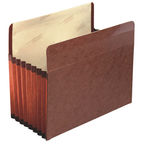 Esselte Reinforced Expanding File Pocket (ESS45302) - Letter - 5 Pack - Red