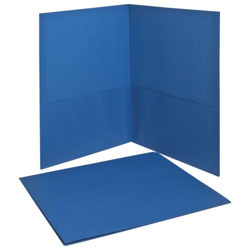 Esselte Oxford Twin Pocket Folders (ESS57501) - Letter - 25 Pack - Blue