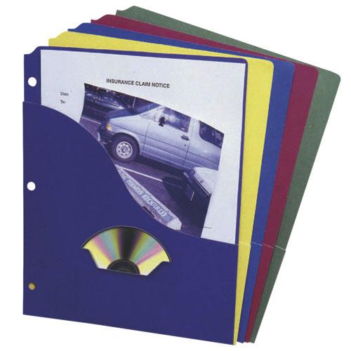 Esselte Pocket Project Folder (ESS32900) - Letter - 10 Pack - Multicoloured