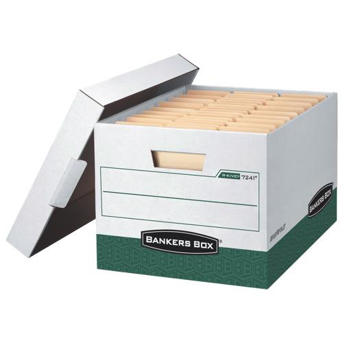 Fellowes Bankers Box R-Kive Letter/Legal Storage Box (FEL07241) - Green