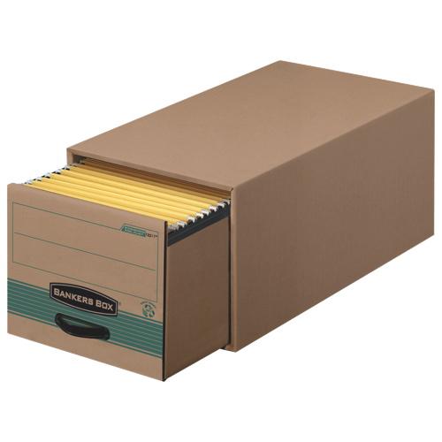 Fellowes Bankers Box Steel Plus Legal Storage Drawer (FEL1231201) - Green