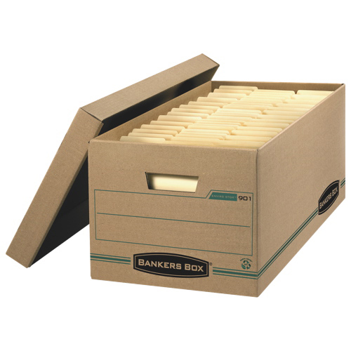 Fellowes Bankers Box Earth Letter Storage Box (FEL00901)