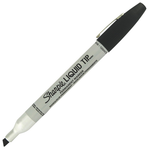 Sharpie Liquid Tip Permanent Marker (SAN7073502392) - Black