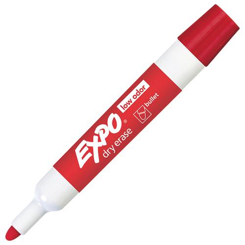 Expo Dry Erase Bullet-Tip Marker (SAN82002) - Red