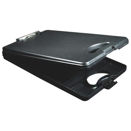 Planchette avec rangement DeskMate II de Saunders (SAU00533) - Noir