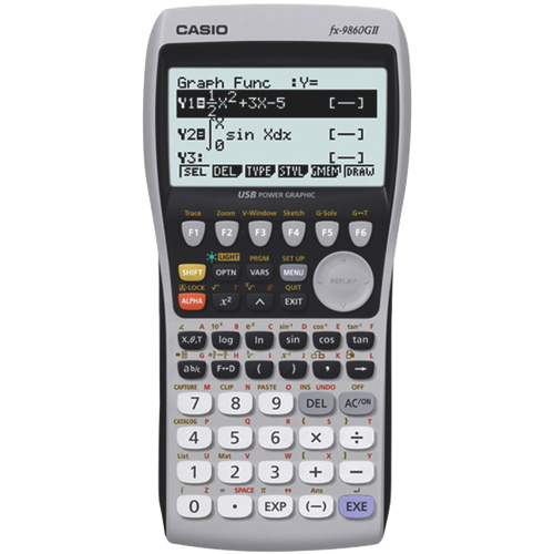 Calculatrice graphique de Casio (FX-9860GII)