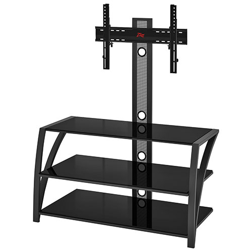 z line designs fiore tv stand with integrated mount for. Black Bedroom Furniture Sets. Home Design Ideas