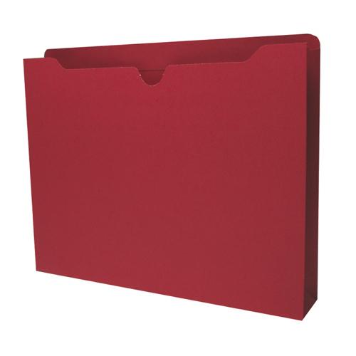 Pochettes de classement format lettre Sparco (SPR26564) - Paquet de 50 - Rouge