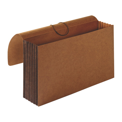 Sparco Tyvek Legal-Size Accordion Wallet (SPR26576) - Brown