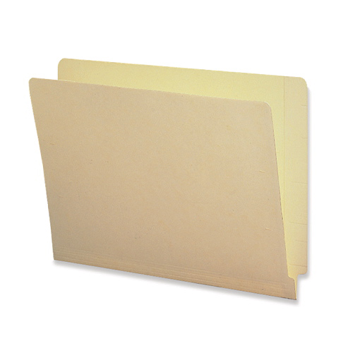 Sparco Shelf-Master Letter-Size Manila Folder (SPR95007) - 100 Pack