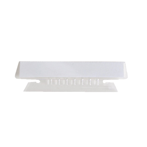 Sparco Plastic Clear Tabs (SPRSP43T) - 25 Pack