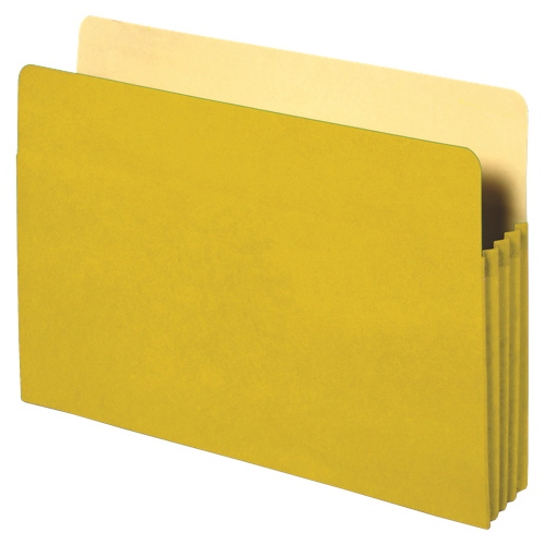 Sparco Accordion File Folder (SPR26553) - Yellow