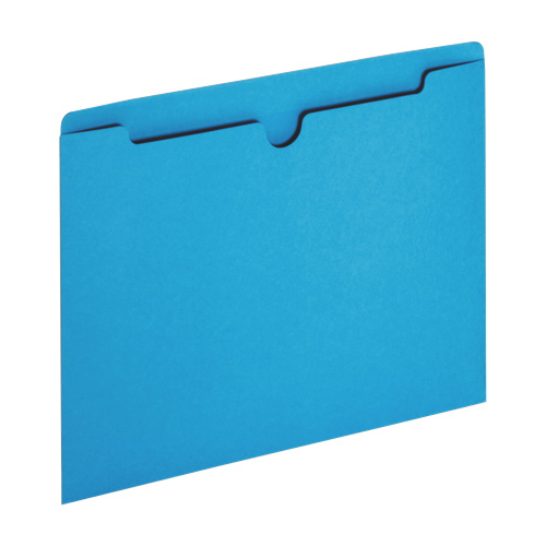 Sparco Letter-Size File Jacket (SPR26558) - 100 Pack - Blue