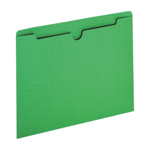 Sparco Letter-Size File Jacket (SPR26559) - 100 Pack - Green