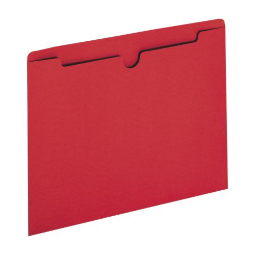 Sparco Letter-Size File Jacket (SPR26560) - 100 Pack - Red