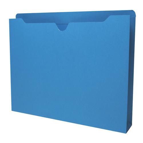 Pochettes de classement format lettre de Sparco (SPR26561) - Paquet de 50 - Bleu