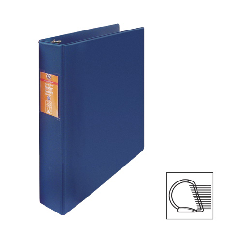 "Wilson Jones 1-1/2"" D-Ring Binder (WLJ13813) - Blue"