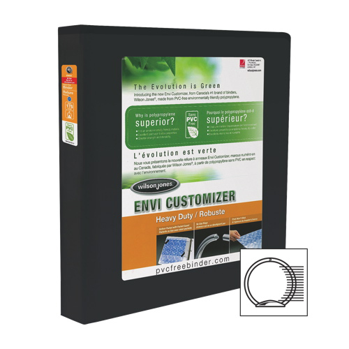 "Wilson Jones 1"" Ring Binder (WLJ36317) - Black"