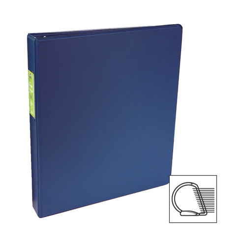 "Wilson Jones 1"" D-Ring Binder (WLJ61118) - Blue"